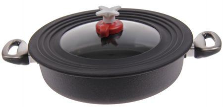 univerzální poklice tlaková pro kulaté nádoby 22-28 cm
